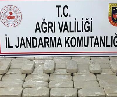 Türkiye-İran sınırında bulundu! Tam 53 kilo