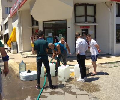 Foça'daki su sorunu vatandaşı canından bezdirdi