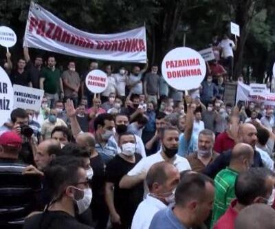 Son Dakika: Bakırköy Belediyesi önünde yine arbede | Video