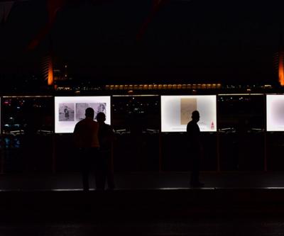 Son dakika... Tarihi Galata köprüsü üzerinde Ayasofya sergisi   Video