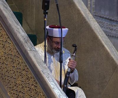 Ayasofya açılışı sırasında gündeme geldi: Hutbede kılıç geleneği nedir?