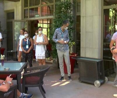 Alman turizmciler Antalya'da | Video
