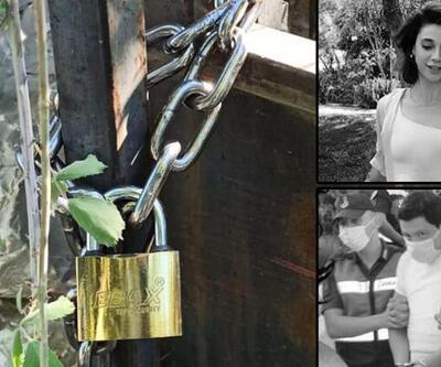 Son dakika haberler... Pınar Gültekin'in öldürüldüğü katliam evine zincirli kilit!