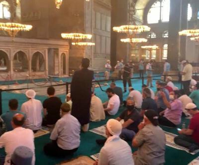 Son Dakika Haberi: Ayasofya Camii'ne ziyaretçi akını | Video