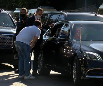 Cumhurbaşkanı Erdoğan taksicilerle sohbet etti