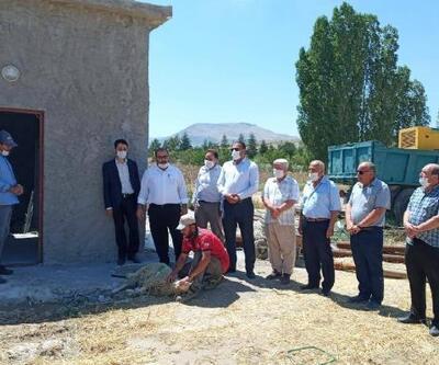 Bayat'a yeni şebeke hattı