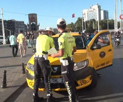Taksilere koronavirüs denetimi | Video