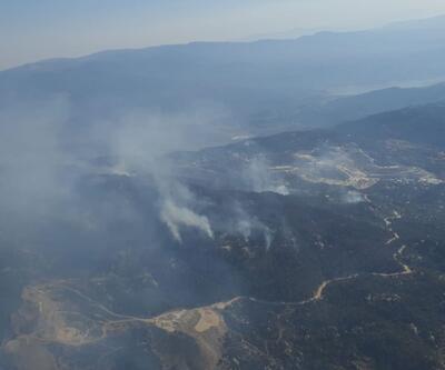 Aydın'da başlayıp Muğla'ya kadar ulaşan orman yangınını kontrol altına alındı