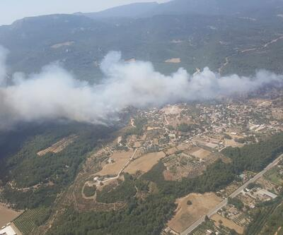 Son dakika... İzmir'in Menderes ilçesinde orman yangını | Video