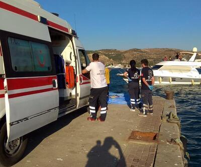 Son dakika haberi... Foça'da 10 kişinin bulunduğu tekne battı: 4 ölü