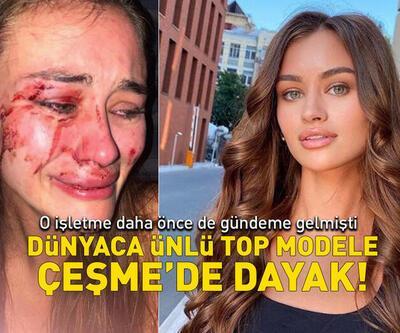 Top model Daria Kyryliuk'e plajda dayak!