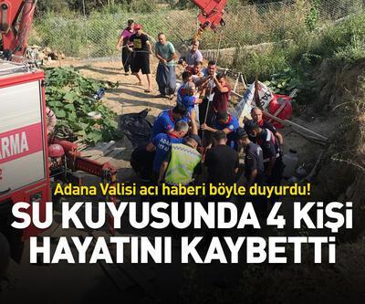 Su kuyusunda 4 kişi hayatını kaybetti