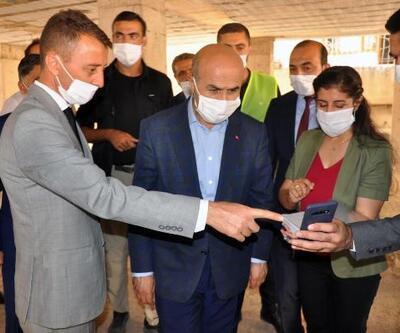 Vali Demirtaş'tan Derik'e ziyaret