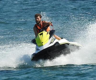 Ümit Kantarcılar'dan jet-ski şov!