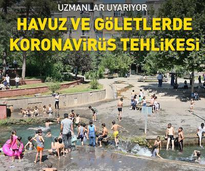 Havuz ve göletlerde 'koronavirüs' riski