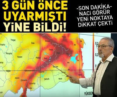 Prof. Dr. Naci Görür yeni noktaya işaret etti