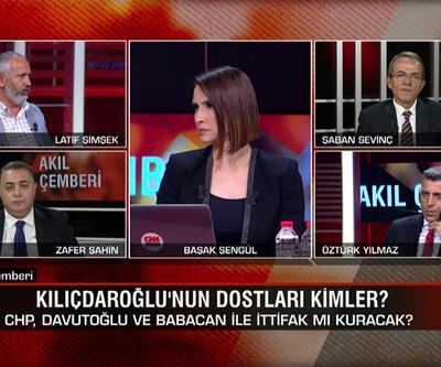 İnce'nin kuracağı yeni parti kimin işine yarar? Yeni parti ittifakları etkiler mi? Kılıçdaroğlu'nun dostları kimler? Akıl Çemberi'nde tartışıldı