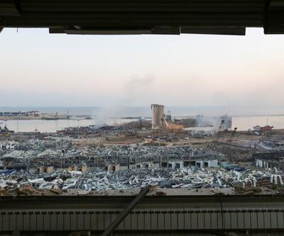 İşte korkunç patlamanın ertesi günü Beyrut