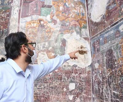 Sümela Manastırı'ndaki frekslerde tahribat oluştuğu iddiasıyla ilgili açıklama