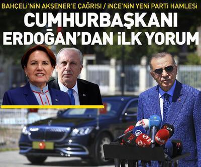 Erdoğan'dan Muharrem İnce ve Akşener açıklaması