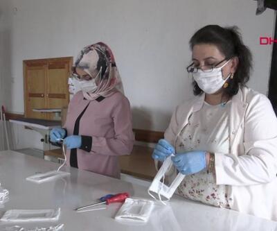 İşitme engellilere kolaylık için şeffaf maske | Video