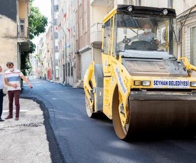Başkan Akay, asfalt dökme çalışmalarını yerinde denetledi