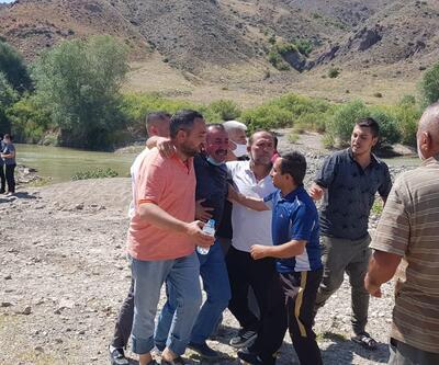Kızılırmak'a giren iki kardeş boğuldu, babaları kayıp