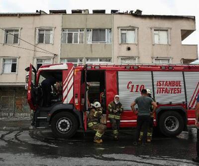 Terasta mangal yangın çıkardı