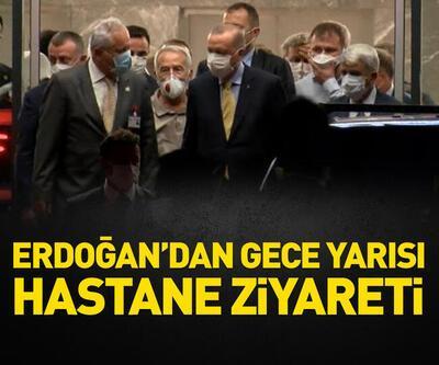 Cumhurbaşkanı Erdoğan, kalp krizi geçiren yeğenini ziyaret etti