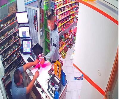 Son dakika... Babasına ait marketleri silah zoruyla soydu