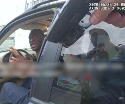 George Floyd'un son anlarına ait polis kamerası görüntüleri yayınlandı   Video