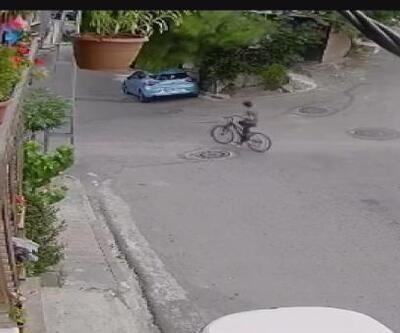 Son Dakika Haberleri: Ağaç bisikletli çocuğun üstüne devrildi | Video