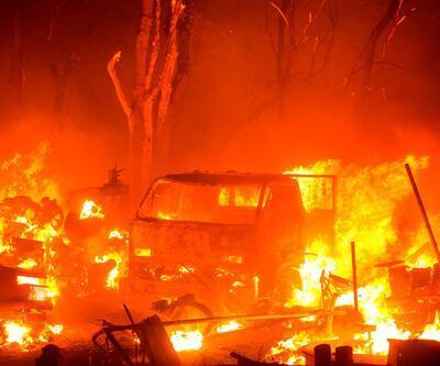 ABD'de yangın kabusu