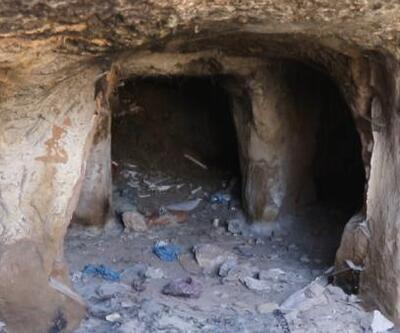 Son dakika... Belediye işçileri kazı yaparken mağara buldu