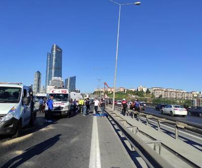 TEM'de feci kaza: 2 kişi hayatını kaybetti