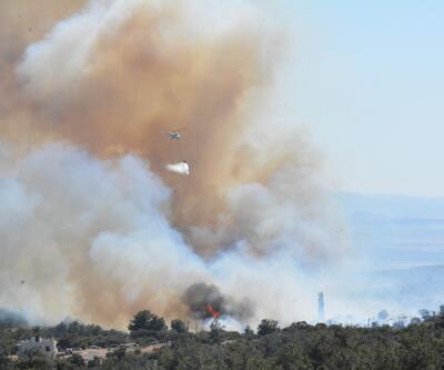 Son dakika! Çanakkale'de korkutan yangın!