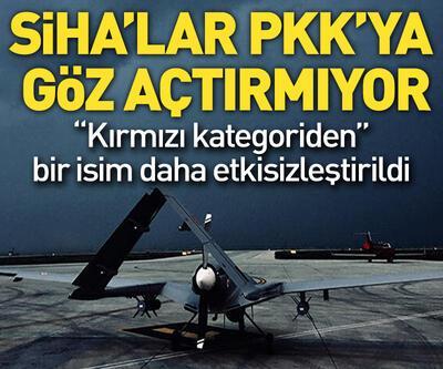 SİHA'lar PKK'ya göz açtırmıyor