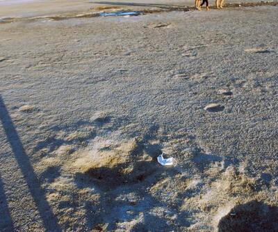 Son dakika... Son dakika... Tuz Gölü'nde tepki çeken görüntü