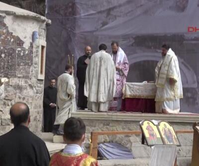 Sümela Manastırı'nda 5 yıl sonra ilk ayin   Video