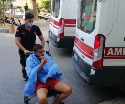 Zonguldak'ta koyda mahsur kalan 8 kişi kurtarıldı