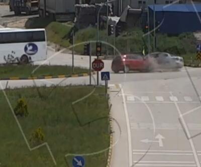 Trafik kazaları KGYS görüntülerinde