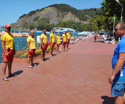 Bölgenin en güvenli plajı Karadeniz Ereğli'de