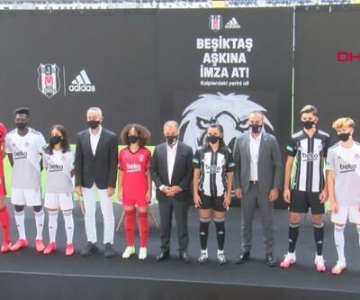 Beşiktaş yeni sezon formalarını tanıttı   Video