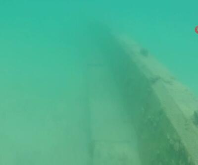 Denizde bile kaçak duvar ördüler | Video