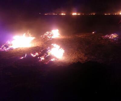 Son dakika... Meteor yangını olduğu iddia edilen alanda mıknatıslarla gök taşı aradılar