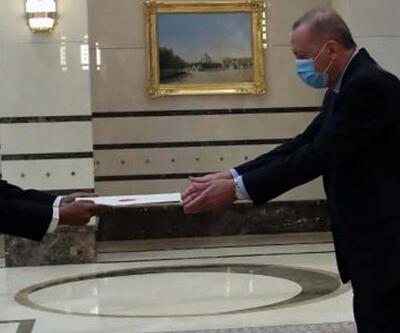 Hindistan Büyükelçisi Panda'dan Erdoğan'a güven mektubu