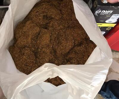 Tekirdağ'da 55 kilo kaçak tütün ele geçirildi