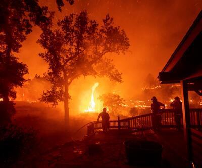 ABD'de yangın kabusu sürüyor: 100 bin kişi tahliye edildi