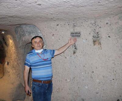 Kapadokya'da yer altı şehirleri, turistlerin ziyaret merkezi oldu