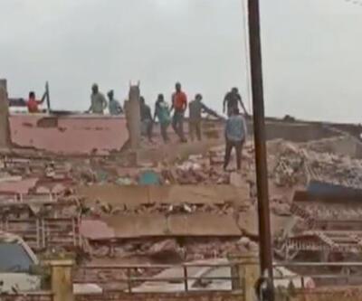 Son dakika haberi: Hindistan'da bina çöktü! En az 90 kişi mahsur kaldı